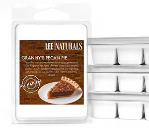 GRANNY'S PECAN PIE Premium 6-Piece Soy Wax Melts - LeeNaturals.com - 1