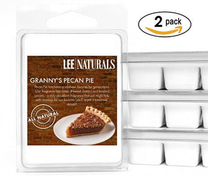 GRANNY'S PECAN PIE Premium 6-Piece Soy Wax Melts - LeeNaturals.com - 2