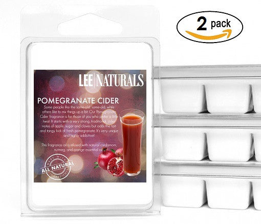 POMEGRANATE CIDER Premium 6-Piece Soy Wax Melts