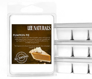 PUMPKIN PIE Premium 6-Piece Soy Wax Melts - LeeNaturals.com - 1