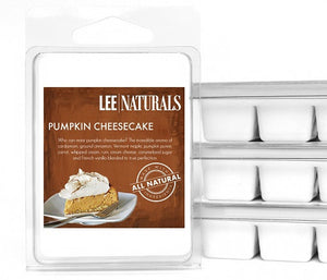 PUMPKIN CHEESECAKE Premium 6-Piece Soy Wax Melts - LeeNaturals.com - 1