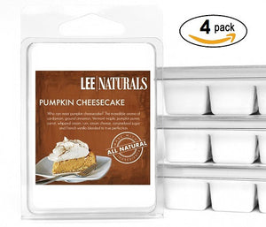 PUMPKIN CHEESECAKE Premium 6-Piece Soy Wax Melts - LeeNaturals.com - 3