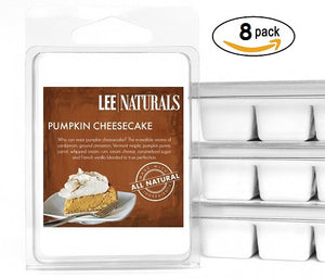 PUMPKIN CHEESECAKE Premium 6-Piece Soy Wax Melts
