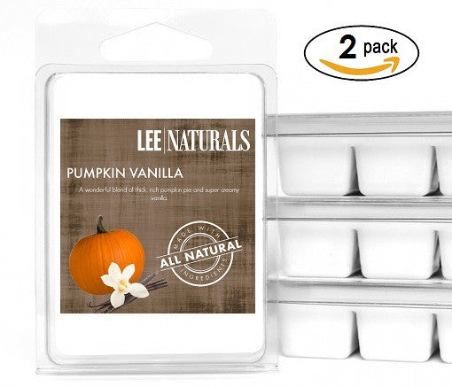 PUMPKIN VANILLA Premium 6-Piece Soy Wax Melts
