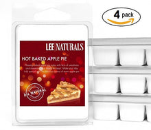 HOT BAKED APPLE PIE Premium 6-Piece Soy Wax Melts - LeeNaturals.com - 3
