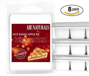 HOT BAKED APPLE PIE Premium 6-Piece Soy Wax Melts - Lee Naturals Wax Melts