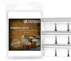 PUMPKIN SPICE Premium 6-Piece Soy Wax Melts - Lee Naturals Wax Melts