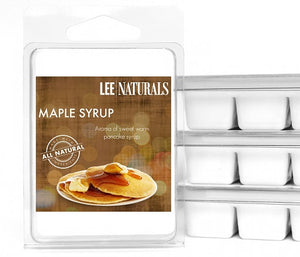 MAPLE SYRUP Premium 6-Piece Soy Wax Melts - Lee Naturals Wax Melts