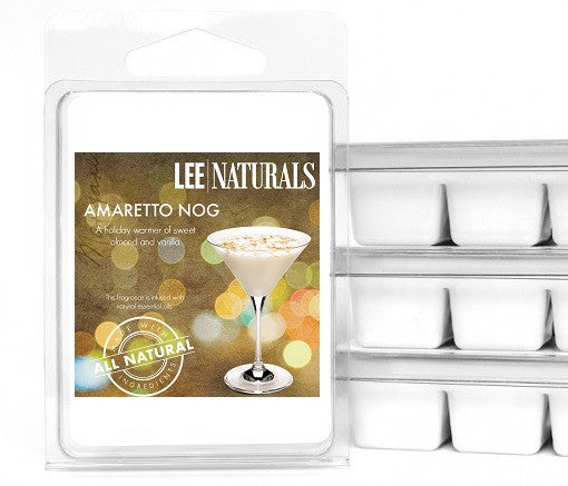 AMARETTO NOG Premium 6-Piece Soy Wax Melts - LeeNaturals.com - 1