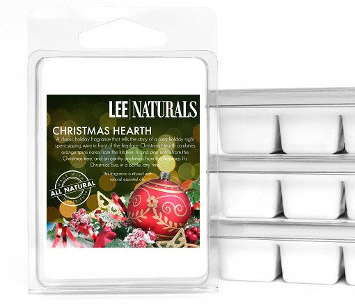 CHRISTMAS HEARTH Premium 6-Piece Soy Wax Melts - LeeNaturals.com - 1