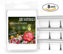 CHRISTMAS HEARTH Premium 6-Piece Soy Wax Melts - Lee Naturals Wax Melts