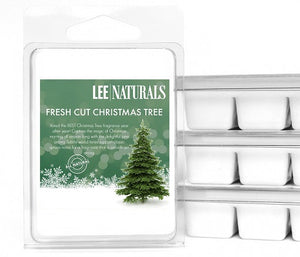 FRESH CUT CHRISTMAS TREE Premium 6-Piece Soy Wax Melts - Lee Naturals Wax Melts