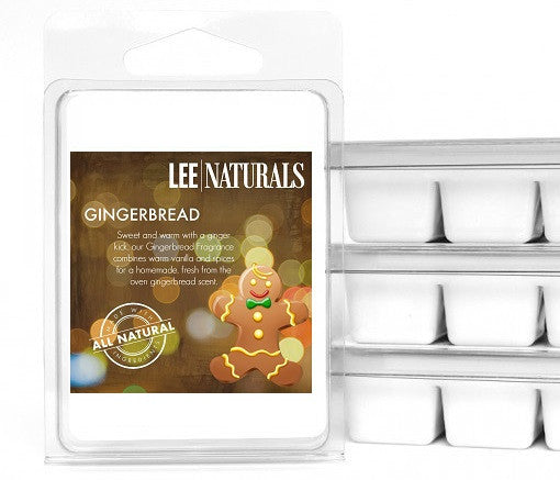 GINGERBREAD Premium 6-Piece Soy Wax Melts - LeeNaturals.com - 1