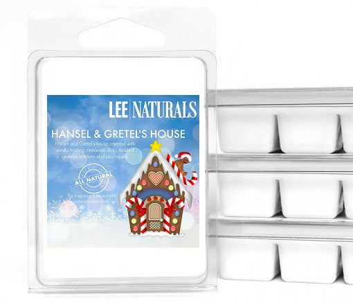 HANSEL & GRETEL'S HOUSE Premium 6-Piece Soy Wax Melts - LeeNaturals.com - 1
