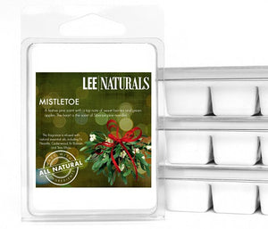 MISTLETOE Premium 6-Piece Soy Wax Melts - LeeNaturals.com - 1