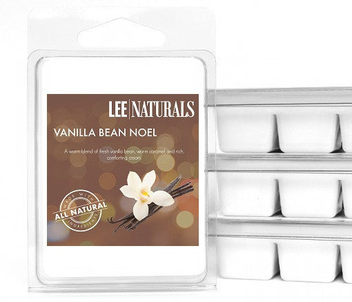 VANILLA BEAN NOEL Premium 6-Piece Soy Wax Melts - LeeNaturals.com - 1