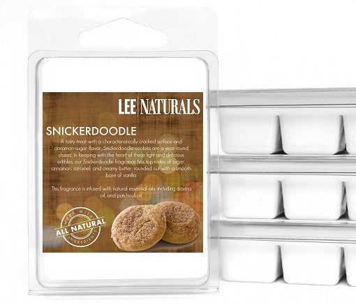 SNICKERDOODLE Premium 6-Piece Soy Wax Melts - LeeNaturals.com - 1