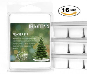 FRASER FIR Premium 6-Piece Soy Wax Melts - Lee Naturals Wax Melts