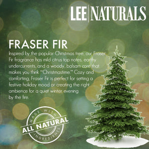 FRASER FIR Premium 6-Piece Soy Wax Melts - LeeNaturals.com - 4