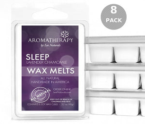 SLEEP - Lavender Chamomile Premium 6-Piece Soy Wax Melts