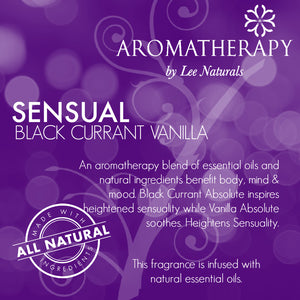 SENSUAL - Black Currant Vanilla Premium 6-Piece Soy Wax Melts