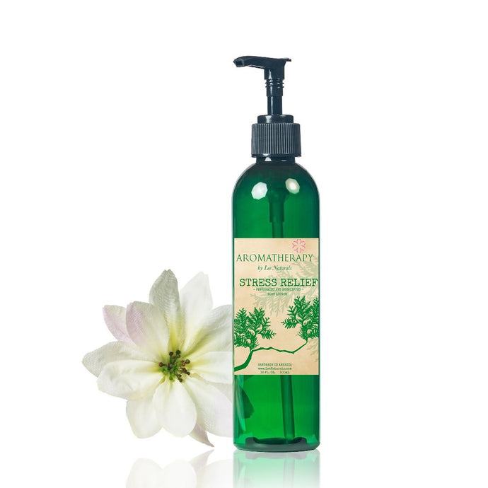 STRESS RELIEF - Peppermint & Eucalyptus Hand and Body Lotion - Lee Naturals Wax Melts