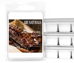 MAPLE GLAZED BACON Manly Melts Premium Collection 6-Piece Soy Wax Melts - LeeNaturals.com - 1