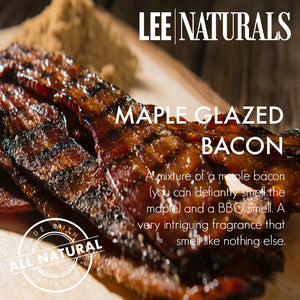 MAPLE GLAZED BACON Manly Melts Premium Collection 6-Piece Soy Wax Melts - LeeNaturals.com - 3