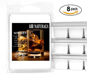WHISKEY Manly Melts Premium Collection 6-Piece Soy Wax Melts