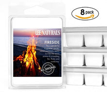 FIRESIDE Manly Melts Premium Collection 6-Piece Soy Wax Melts - Lee Naturals Wax Melts