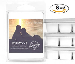 PARAMOUR Manly Melts Premium Collection 6-Piece Soy Wax Melts