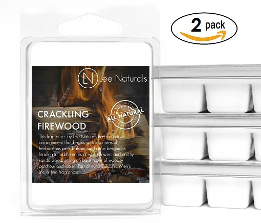 CRACKLING FIREWOOD Manly Melts Premium Collection 6-Piece Soy Wax Melts