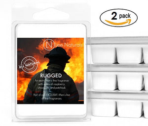 RUGGED Manly Melts Premium Collection 6-Piece Soy Wax Melts