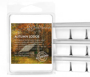 AUTUMN LODGE Manly Melts Premium Collection 6-Piece Soy Wax Melts