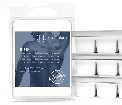 BLUE Manly Melts Premium Collection 6-Piece Soy Wax Melts