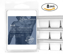 BLUE Manly Melts Premium Collection 6-Piece Soy Wax Melts - Lee Naturals Wax Melts