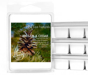 BALSAM & CEDAR Manly Melts Premium Collection 6-Piece Soy Wax Melts