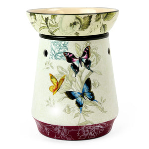 Premium Designer Cream Vase Tart Warmer - Lee Naturals Wax Melts