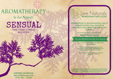 SENSUAL - Black Currant & Vanilla Hand and Body Lotion
