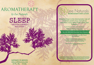 SLEEP - Lavender Chamomile Hand and Body Lotion - Lee Naturals Wax Melts