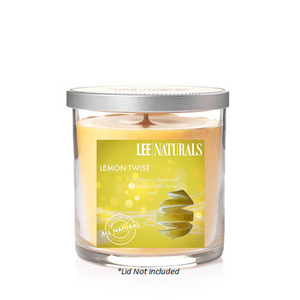LEMON TWIST Premium Soy Tumbler Candle