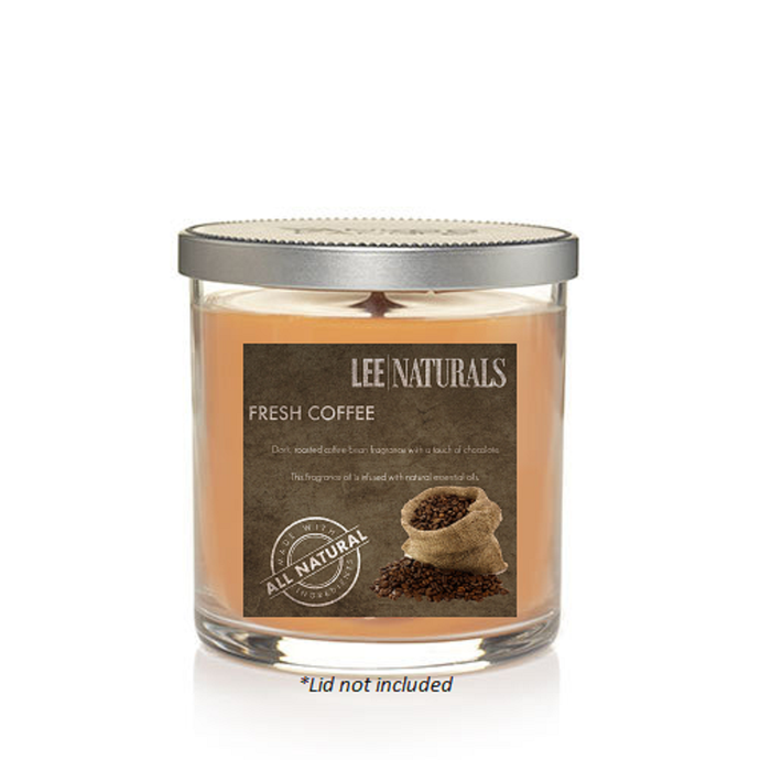 FRESH COFFEE Premium Soy Tumbler Candle