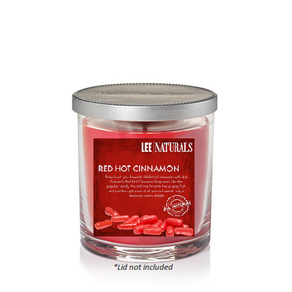 RED HOT CINNAMON Premium Soy Tumbler Candle