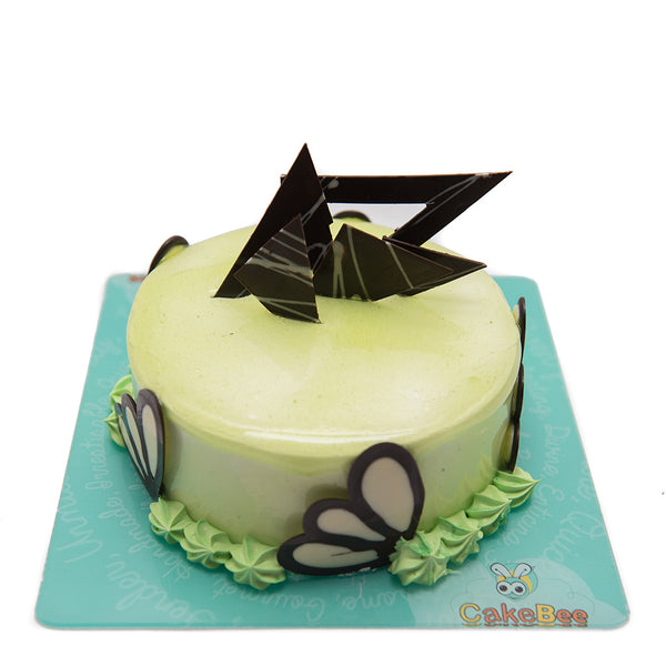 Magical Green Apple Cake