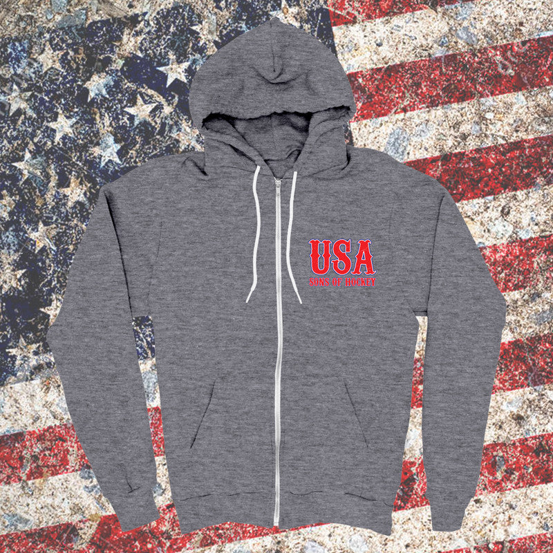 Keeper USA Zip Up Sweatshirt