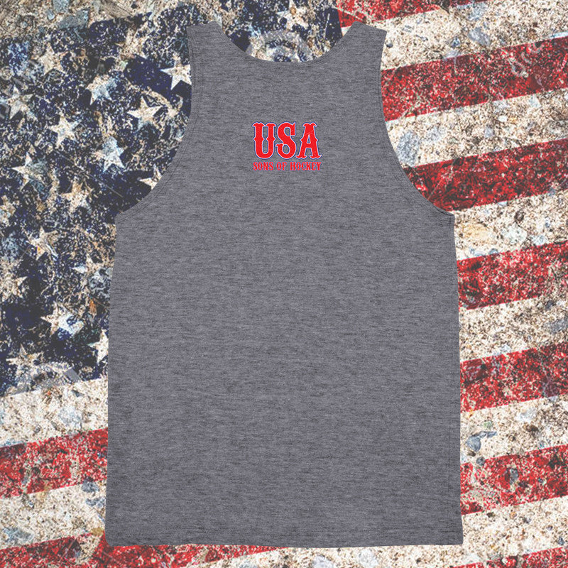 Keeper USA Tank Top - Sons of Hockey