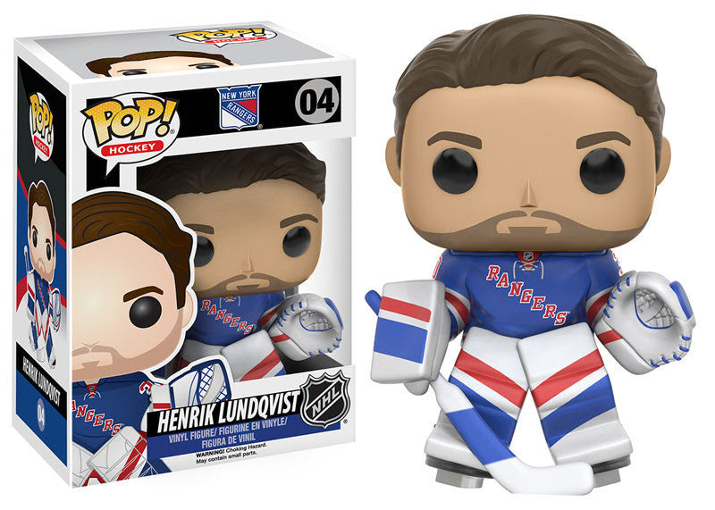 Funko Pop! NHL Henrik Lundqvist #04 - New York Rangers