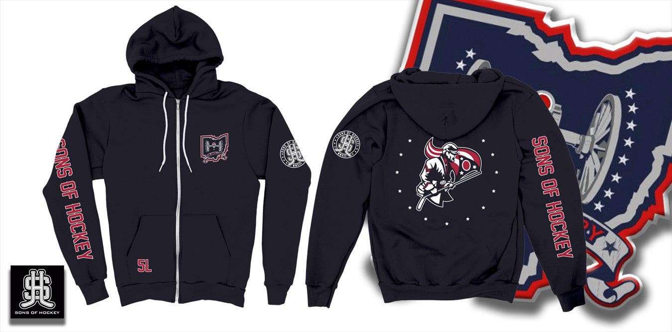 The Flag Bearer - ZIP-UP Hoodie