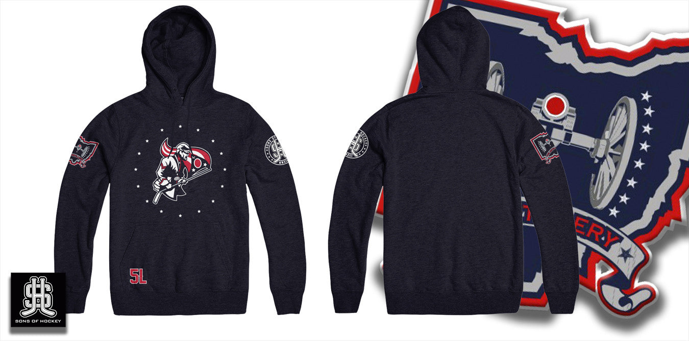 The Flag Bearer - Pullover Hoodie - Sons of Hockey