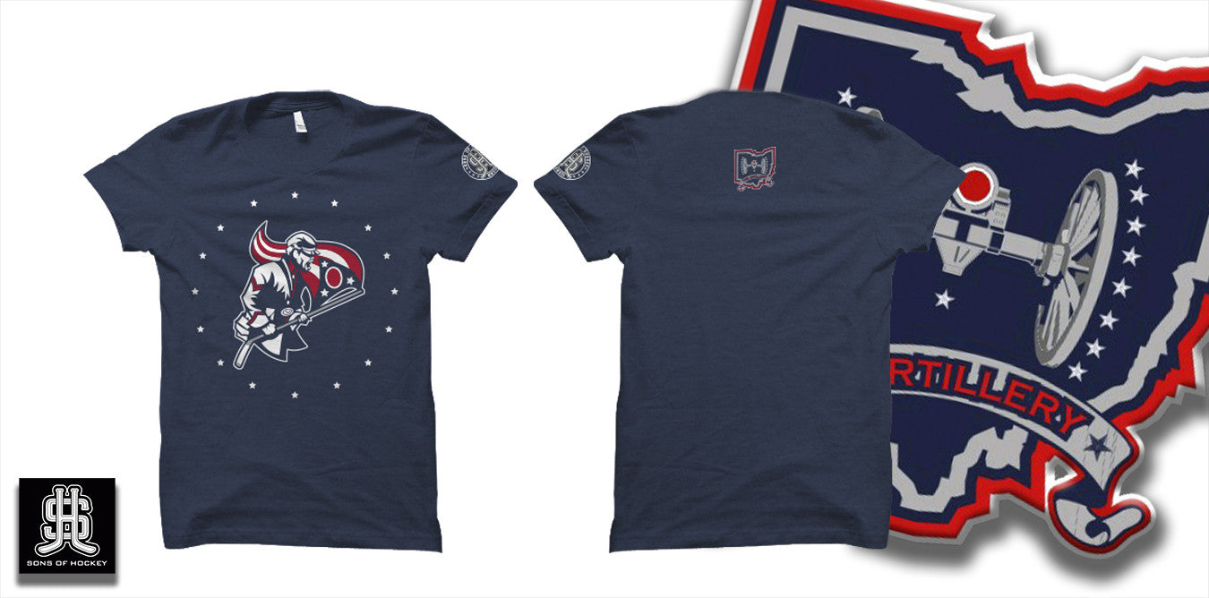 The Flag Bearer - Tee - Sons of Hockey